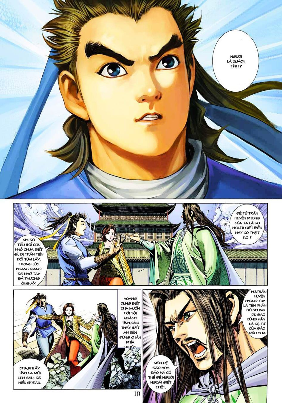 Anh Hùng Xạ Điêu anh hùng xạ đêu chap 33 trang 10