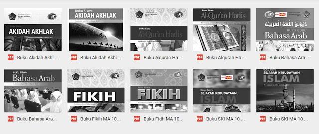 Buku PAI dan Bahasa Arab Madrasah Aliyah Kelas 10/11/12 ...