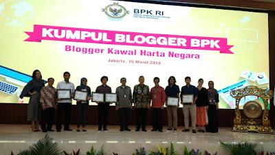 Pemenang Lomba Blog BPK