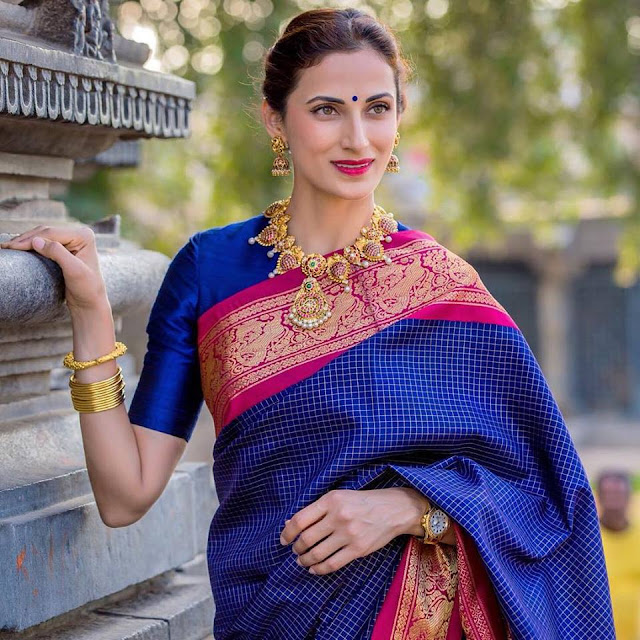 Shilpa Reddy Showcasing Krsala Jewellery Designs