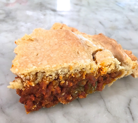 Moroccan Meat Pie