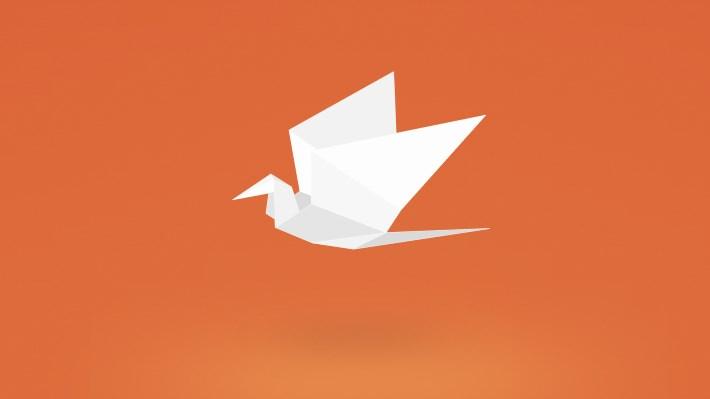 Wallpaper 2: Origami