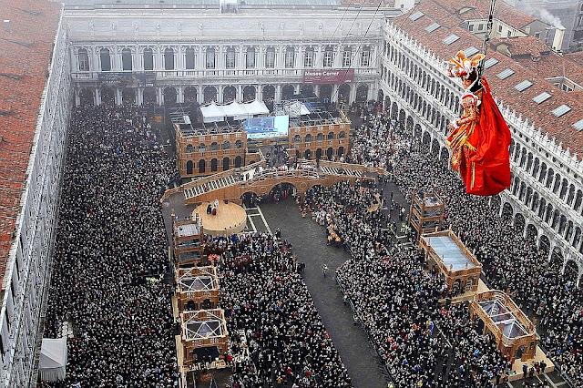 55 dní zbývá do zahájení Benátského karnevalu, kam v Benátkách, co vidět v Benátkách, jak na Benátský karneval 2017, co dělat na Benátském karnevalu,