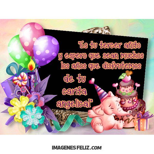 Felicitaciones De Cumpleanos Para Nina De 1 Ano.Feliz Cumpleanos Nina Imagenes Feliz Cumpleanos