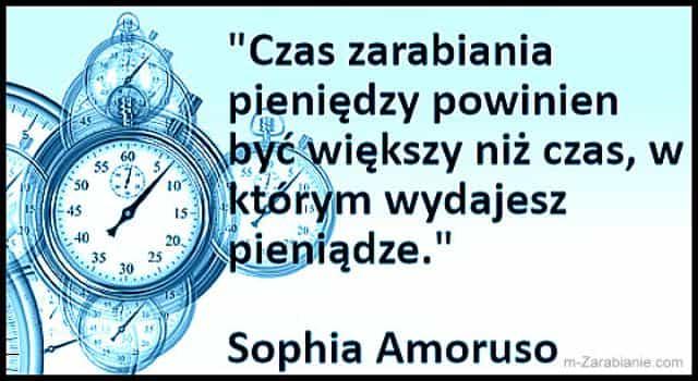 Sophia Amoruso, cytaty o zarabianiu pieniędzy.