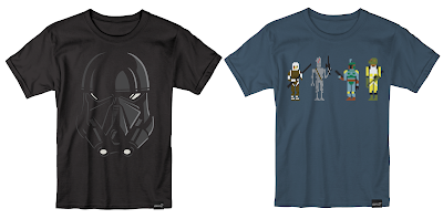 Star Wars Rogue One & Empire Strikes Back T-Shirts by Super7