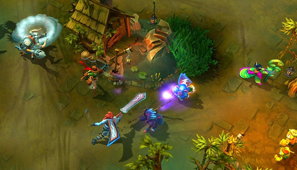 Strife free to play MOBA PC game