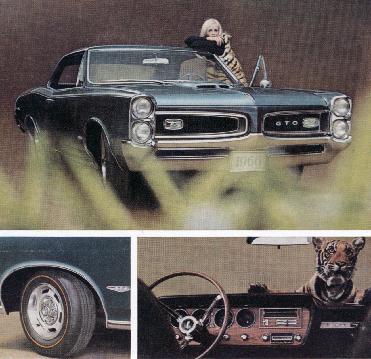 Promofile Crouching Tiger Hidden Burnoutsgto Ads In The 1960s 1960 Pontiac Catalina Wiring Diagrams Ironically These Were Most Aggressive Ever Devised For Gto Everything That Followed Was Pale And Tame By Comparison
