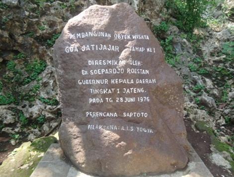 Peresmian Goa Jatijajar