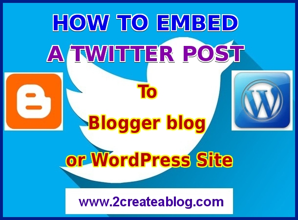 How to Embed a Twitter Post