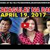 NAKAKAGULAT NA BALITA NGAYONG ARAW PANOORIN NYO APRIL 19, 2017