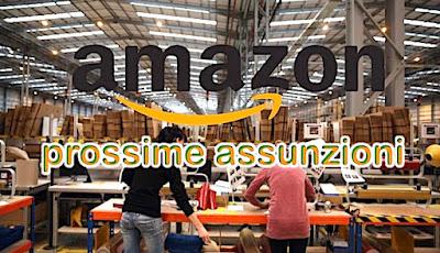Amazon offerte lavoro - adessolavoro.blogspot.com