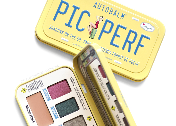 TheBalm Autobalm PIC PERF Eyeshadow Palette Review
