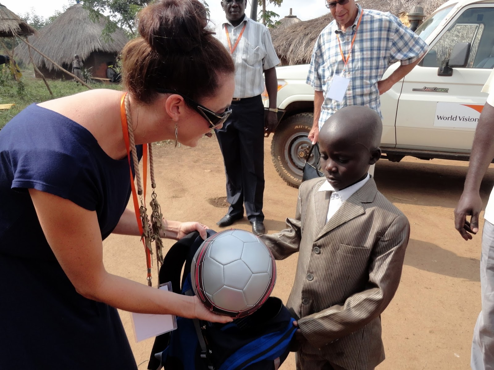 world vision sponsored child in Uganda, Africa
