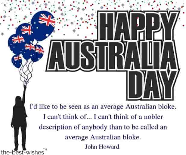 john howard quotes australia day