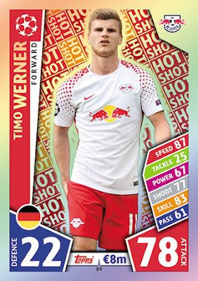 topps match attax hot escorte