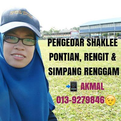 Pengedar Shaklee Pontian, Rengit dan Simpang Renggam Johor