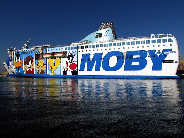 Moby Wonder ferry, IMO 9214367, Livorno