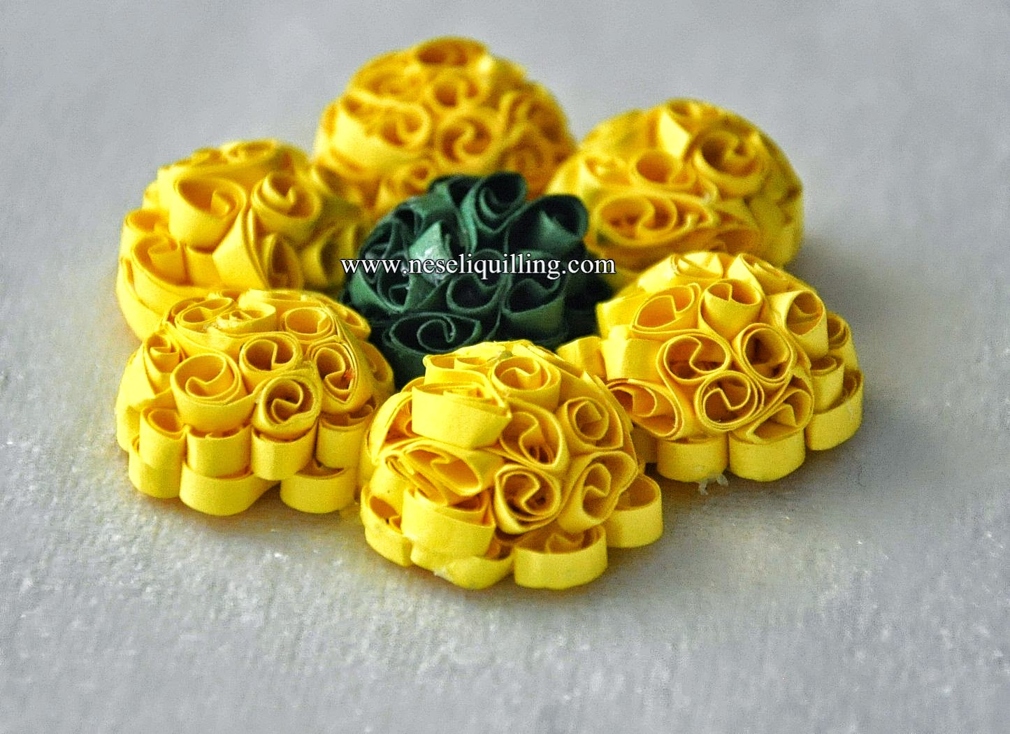 quilling beehive technique