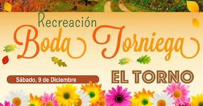 Recreación de Boda Torniega. 9 de diciembre en El Torno