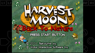 Cara bermain game harvest moon back to nature di android
