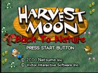 Cara Bermain Game Harvest Moon Back To Nature di Android