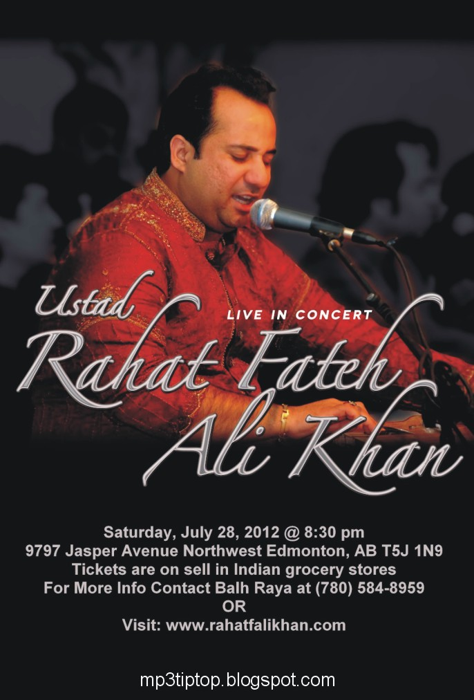 Rahat fateh ali khan songs: mp4 videos.