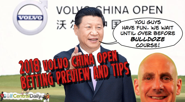 2018 Volvo China Open Fantasy Picks