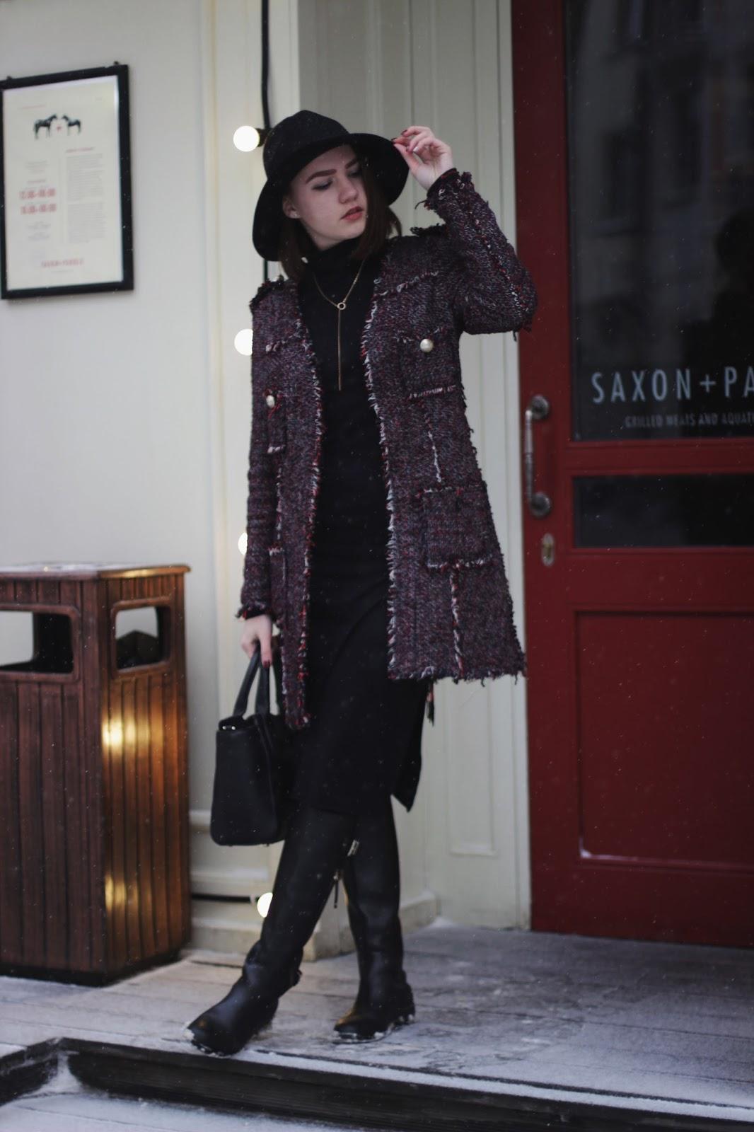 Alina Ermilova | Outfit | Embroidery Jacket
