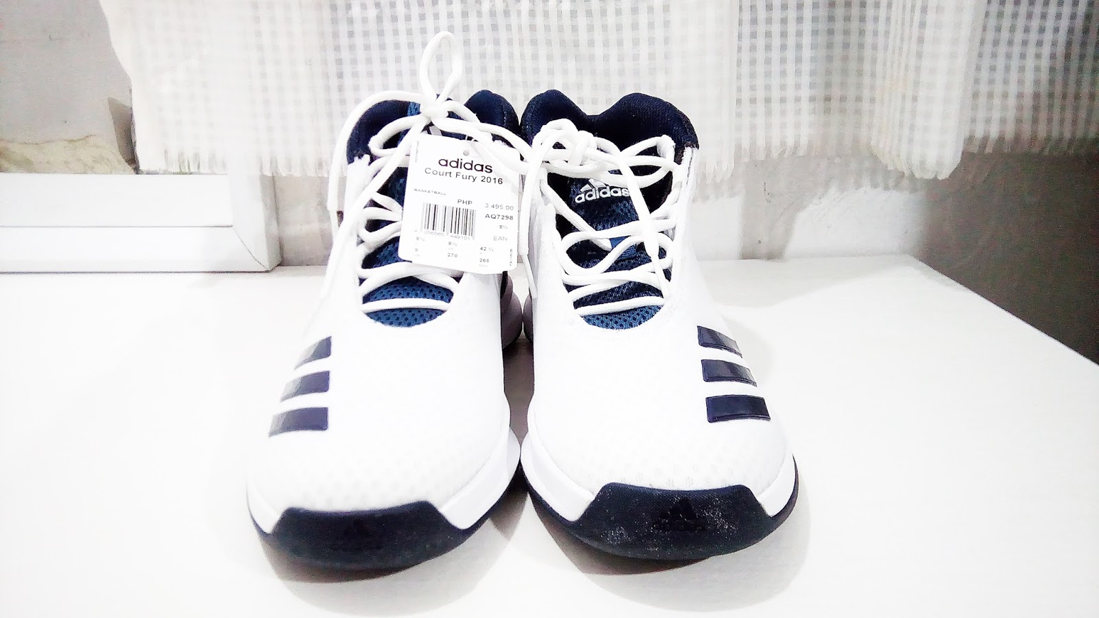 newest aa29a d4f7b Brand Adidas Model Court Fury 2016 Mid Shoes Regular Price Php 3,495.00.  On sale Price Php 2,446.50
