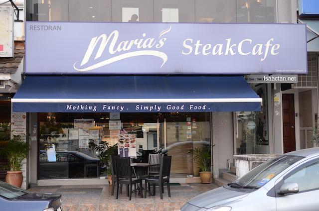 Maria's Steak Cafe @ Bangsar