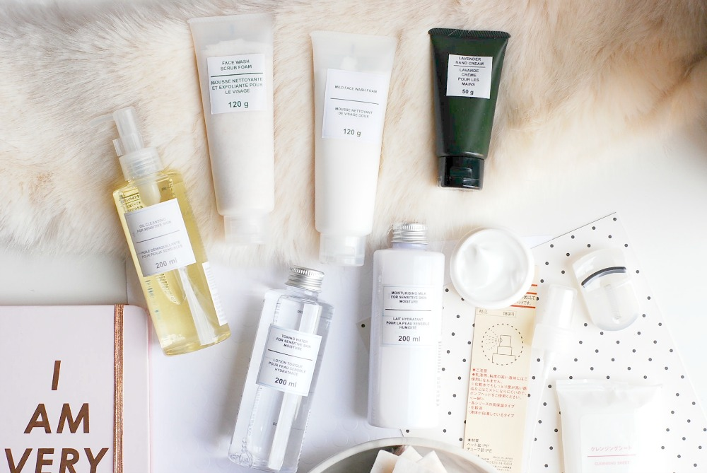 MUJI skincare ingredients review