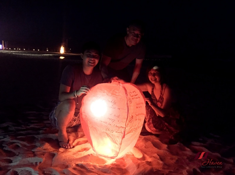 singapore lifestyle blogger bintan resorts sky lanterns