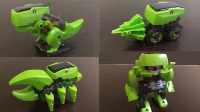 DIY Solar robot