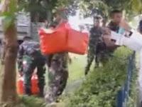 Video Mengejutkan, Aksi TNI ke Santri Pasca Demo 161 'Tampar' Polisi