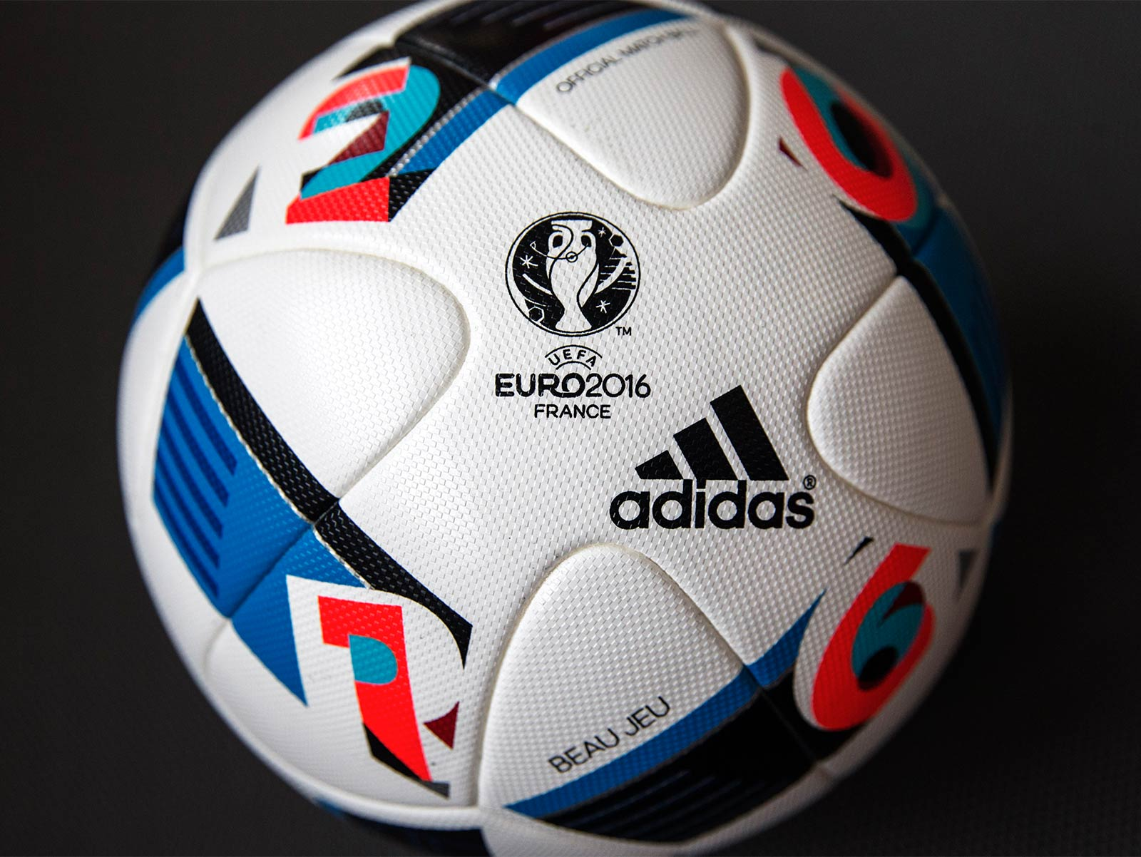 adidas beau jeu euro 2016 ball released footy headlines. Black Bedroom Furniture Sets. Home Design Ideas