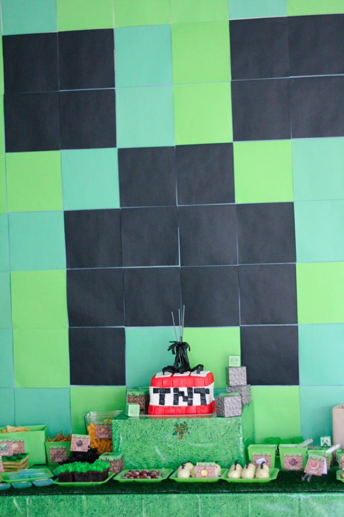 The Best Diy Minecraft Party Decorations Especially On A Budget