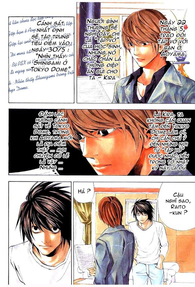 Death Note chapter 028 trang 4