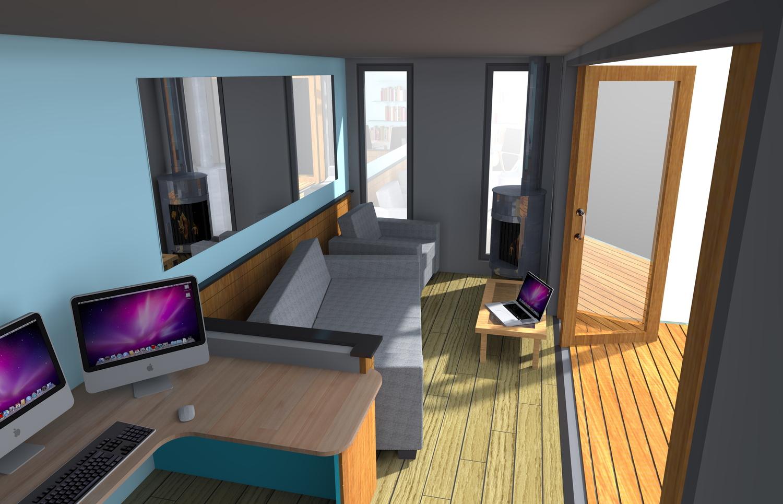 Casas contenedores casas contenedores dise o de estudio for Diseno de oficinas con contenedores