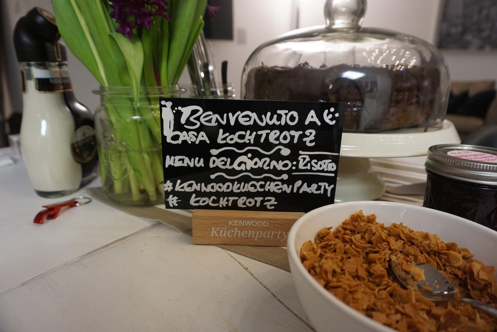 Jessi\'s SchlemmerKitchen: Kenwood Küchenparty - Risotto