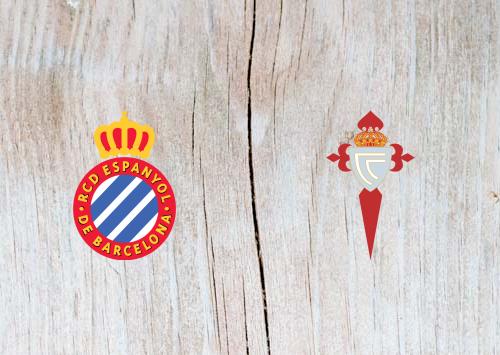 Espanyol vs Celta Vigo - Highlights 24 April 2019