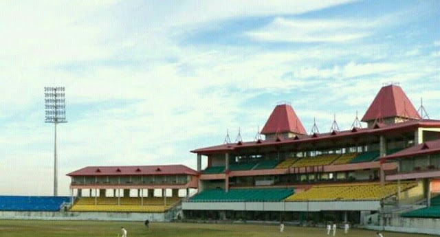 First test match in dharamshala