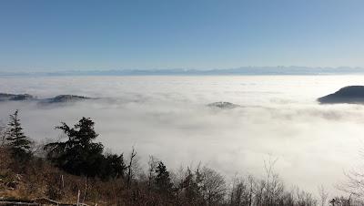 Beretenkopf, Blick Richtung Südosten