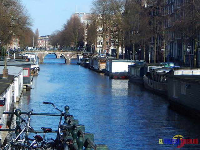 Casas flotantes Amsterdam