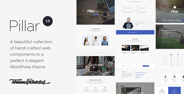 Pillar - Multipurpose Multi-concept Responsive WordPress Theme free download