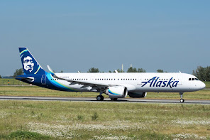 A321NEO in Alaska std cs
