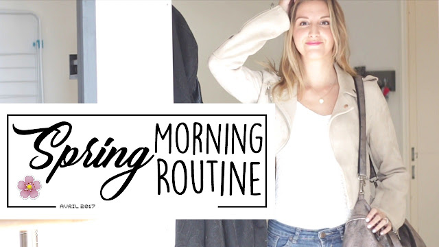 Agathe Diary Spring morning routine matinale printemps