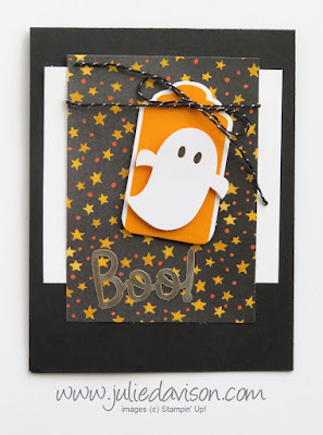 September 2018 Paper Pumpkin: Frights & Delights Alternative Project ~ Stampin' Up! ~ www.juliedavison.com