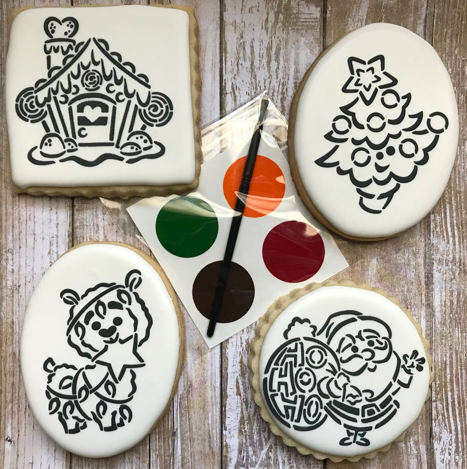 Christmas Cookies 2018 Paint Your Own Pyo Gift Kits The Aggie