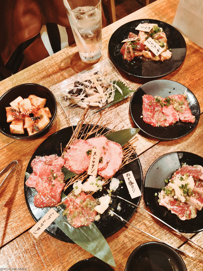 Japanese Fashion Blogger,MizuhoK, 2019,04-06 photo diary 焼肉